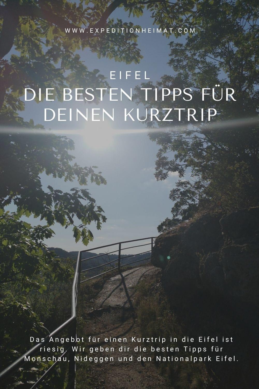 Tipps für deinen Kurztrip in die Eifel