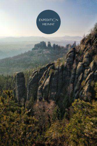 Wanderung zu den Schrammsteinen und Carolafelsen